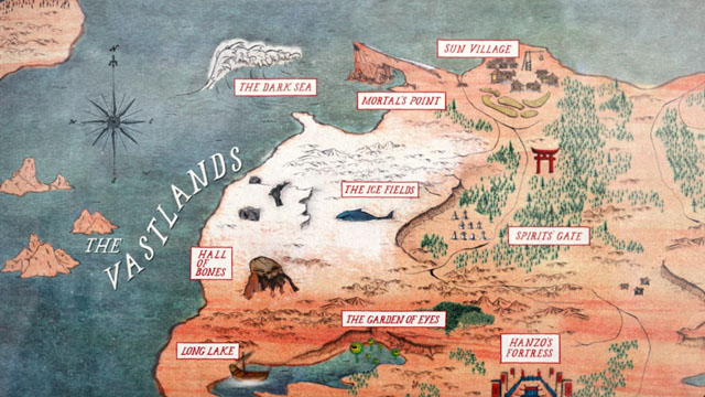 Explore the world of LAIKA's latest with an interactive Kubo map!