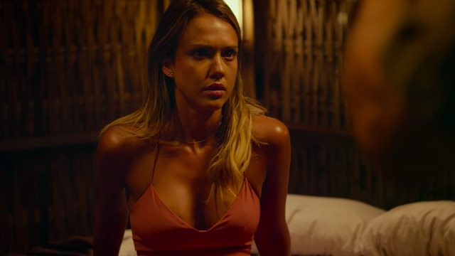 Jason Statham Questions Jessica Alba in a New Mechanic: Resurrection Clip.