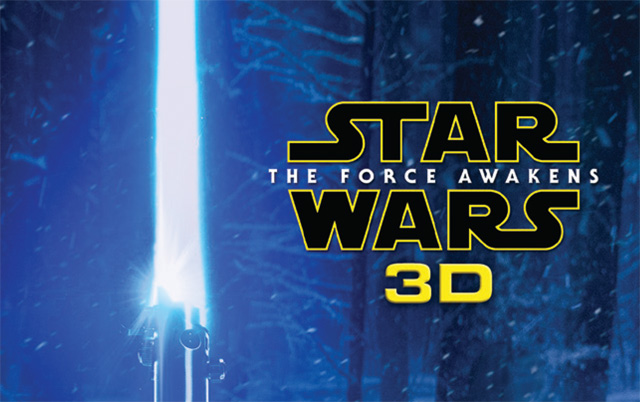 Star Wars: The Force Awakens 3D Collector's Edition Coming in November