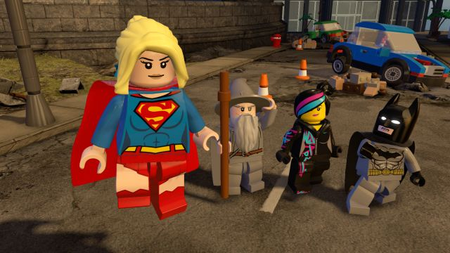 Supergirl Comes to Lego Dimensions with Red Lantern Transformation