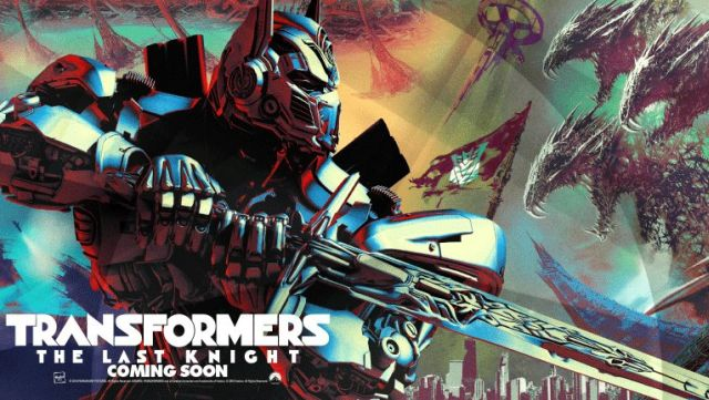 Transformers: The Last Knight Poster Officially Released