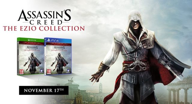 Assassin S Creed The Ezio Collection Remaster Announced