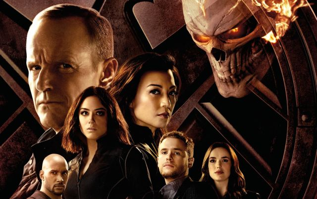 The Gang's All Here in the Marvel's Agents of SHIELD Season 4 Poster