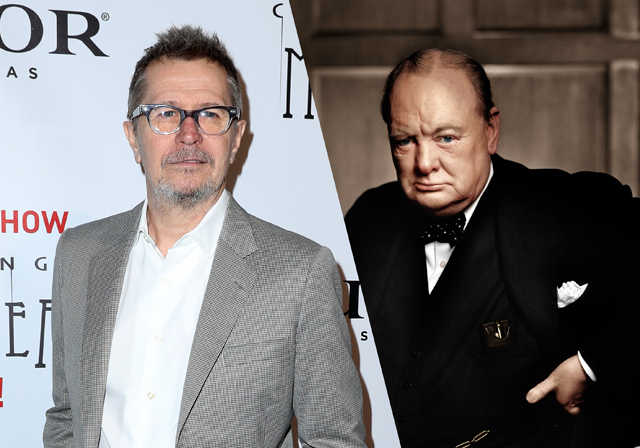 Focus Features Takes Churchill Biopic Darkest Hour, Starring Gary Oldman