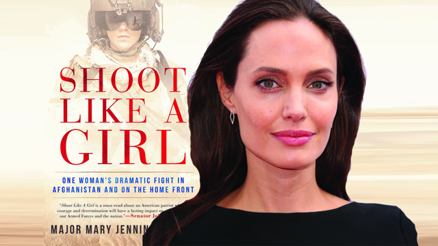 Angelina Jolie is eyed to headline Shoot Like a Girl.