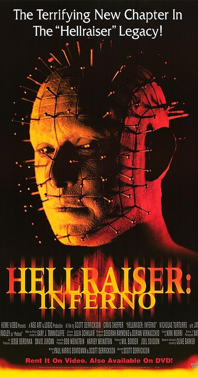 The Scott Derrickson movies list continues with Hellraiser: Inferno.