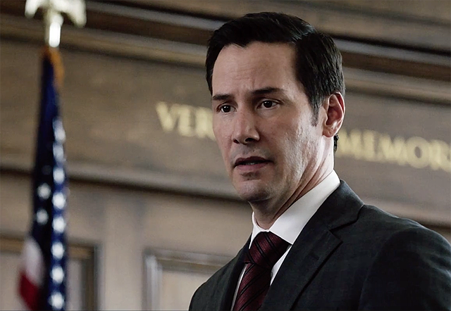 Keanu Reeves in The Whole Truth Trailer and Poster