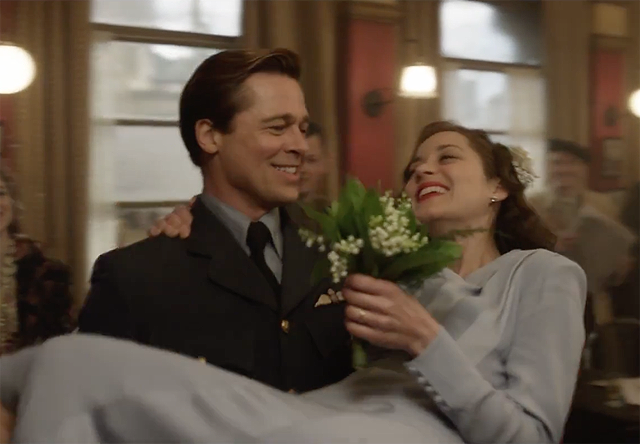 Brad Pitt and Marion Cotillard Get Married in New Allied TV Spot