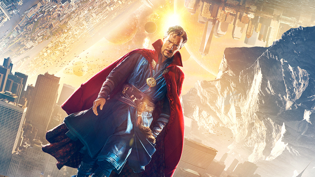 Explore the worlds of Doctor Strange on the Doctor Strange set.