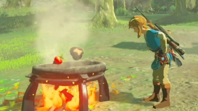 Cooking with Link Video for The Legend of Zelda: Breath of the Wild