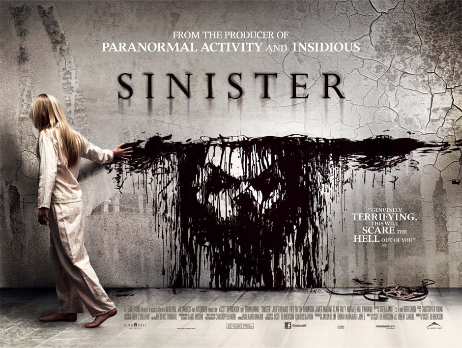 Sinister is another one of the Scott Derrickson movies on this list that represents a franchise.
