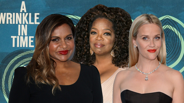 Mindy Kaling and Reese Witherspoon may also join A Wrinkle in Time.