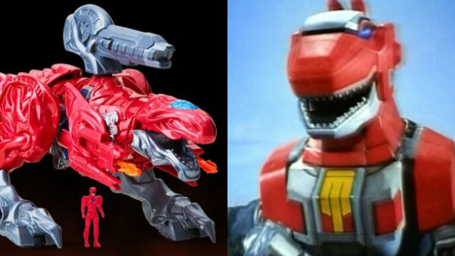 New Power Rangers Toys Reveal the Reboot's T-Rex Zord