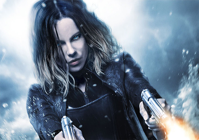 Kate Beckinsale Blasts Onto the Underworld: Blood Wars Poster