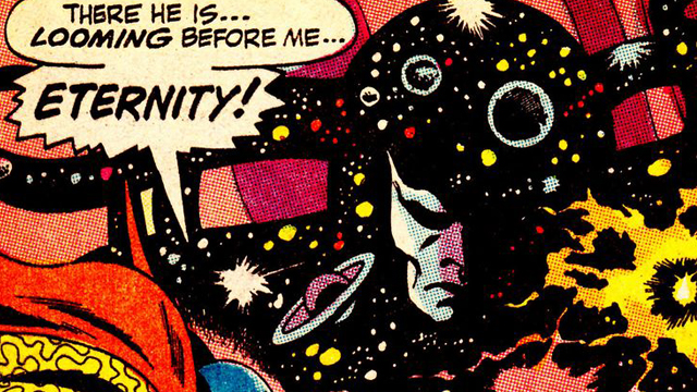 Eternity is one of the Doctor Strange characters we'd like to see on the big screen.