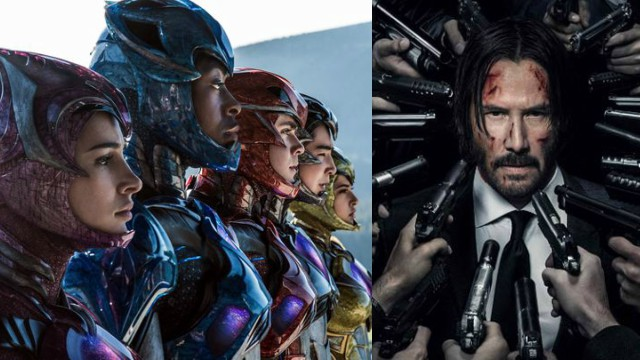 Power Rangers and John Wick: Chapter 2 Live Stream from NYCC