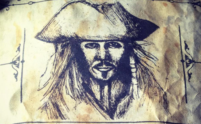 New Jack Sparrow Wanted Poster for Dead Men Tell No Tales