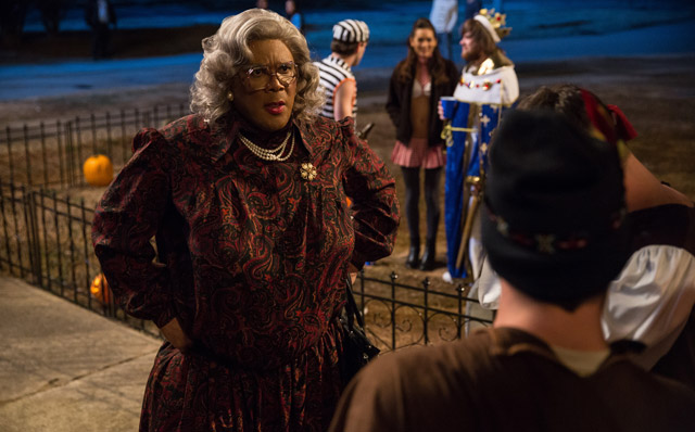 Tyler Perry in an Exclusive Boo! A Madea Halloween Clip!