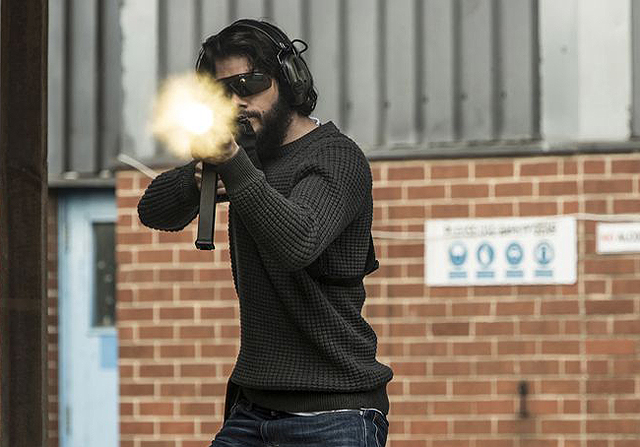 Dylan O'Brien Takes Aim in New American Assassin Photos