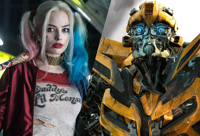 harley quinn movie bumblebee spin off screenwriter news. Black Bedroom Furniture Sets. Home Design Ideas