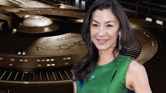 Michelle Yeoh is the first cast member to join CBS All Access' Star Trek: Discovery.