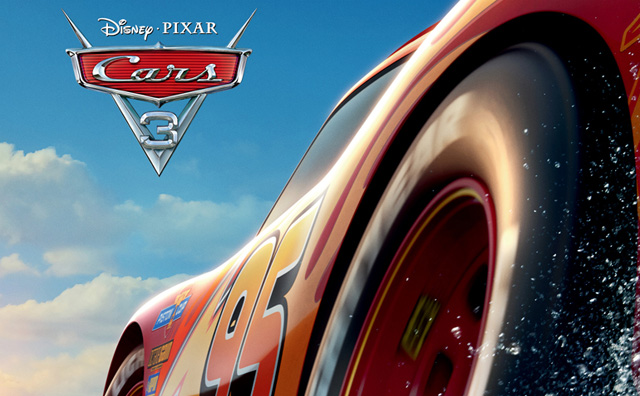 There's no crashing in the international Cars 3 poster. Check out the international Cars 3 poster at ComingSoon.net.