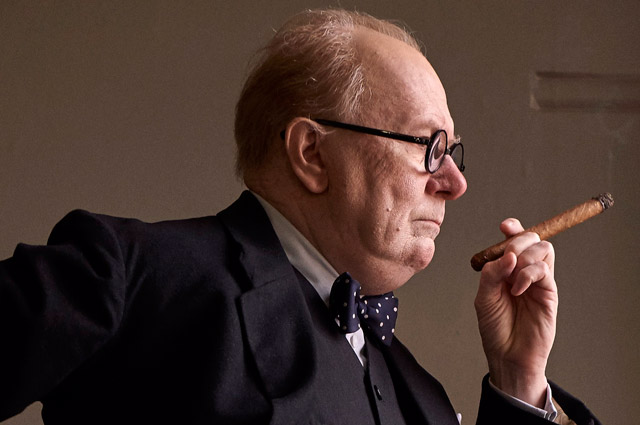 First look at Gary Oldman as Winston Churchill in Darkest Hour