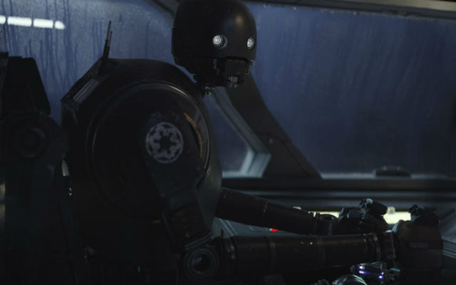 Moving on from the Rogue One ships, we've got a new droid, K2SO!