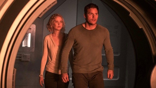 Chris Pratt Gets Sucked Into an Air Lock in Passengers Clip