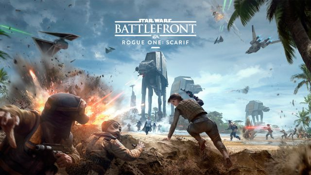 Star Wars Battlefront Rogue One: Scarif Trailer Debuts