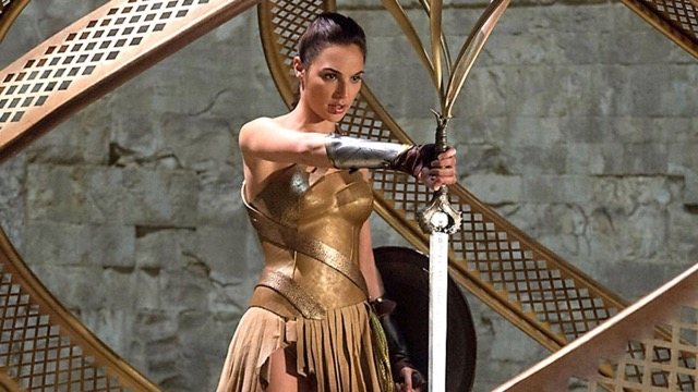 Wonder Woman Gets Her Sword in New Movie Photo