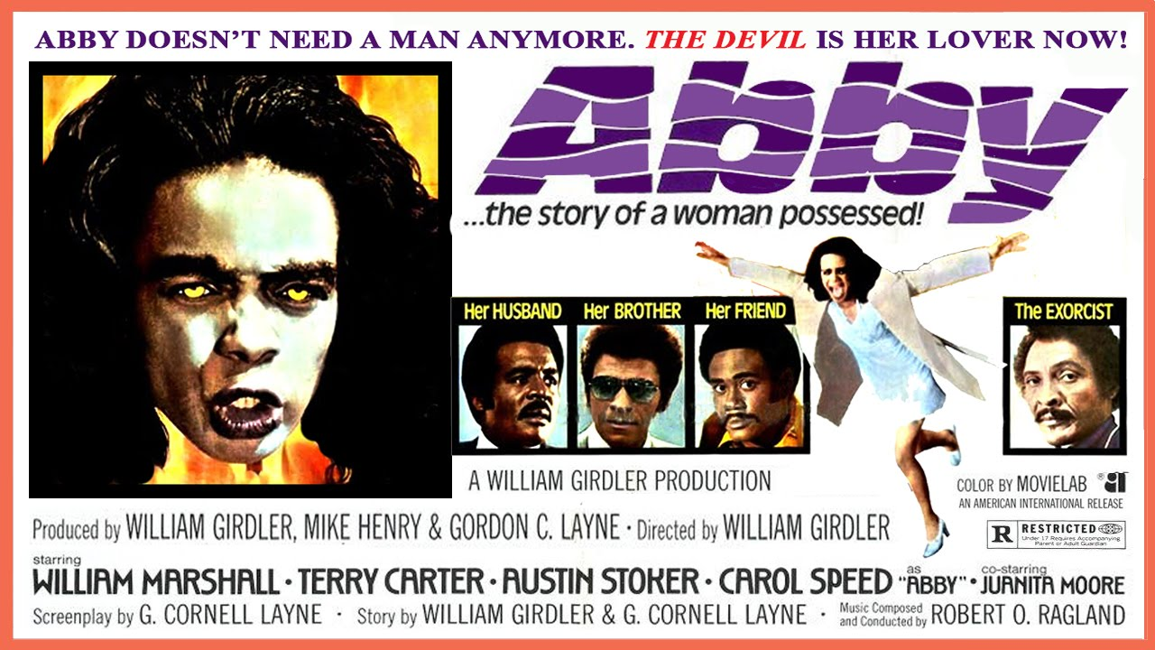 A look at William Girdler's fantastic and notorious The Exorcist rip-off Abby