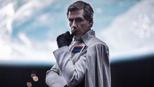 Orson Krennic is another key element of the Star Wars story in Rogue One.