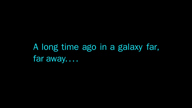 Here's the Star Wars Story so far...