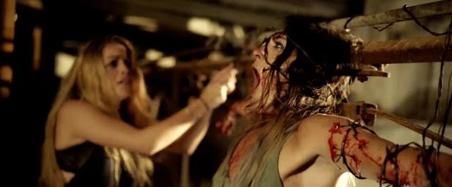 Exclusive Clip from Slasher Flick Pitchfork!