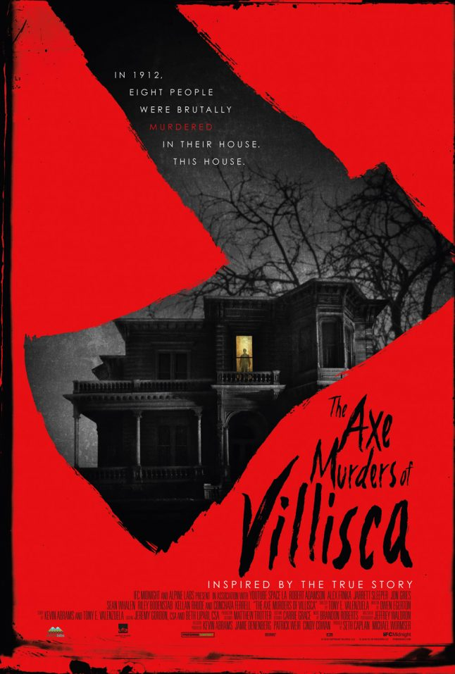 Fact-based horror film The Axe Murders of Villisca set for a January release from IFC Films