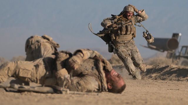 Watch Aaron Taylor-Johnson and John Cena in The Wall Trailer