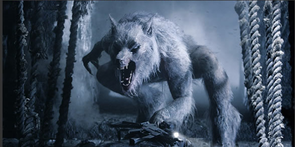 Here's the Lycan form of one of the major Underworld characters.