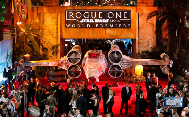 Rogue One World Premiere and After Party Photos