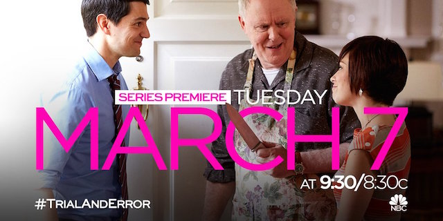 Trial and Error is the latest addition to the NBC midseason 2017 schedule.