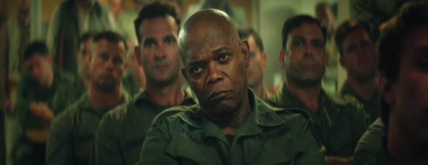 Samuel L. Jackson plays a major role in the Kong: Skull Island cast.