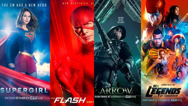 The CW Renews DC Comics Shows and Three More!