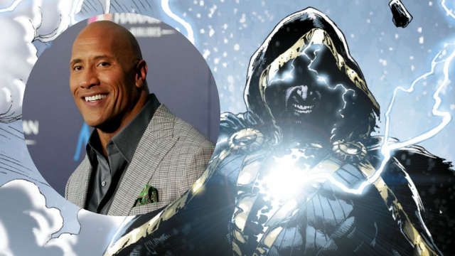 Dwayne Johnson's Black Adam Getting a Solo Movie!