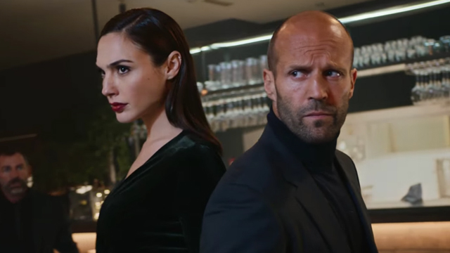Gal Gadot and Jason Statham team for a Wix Super Bowl ad.