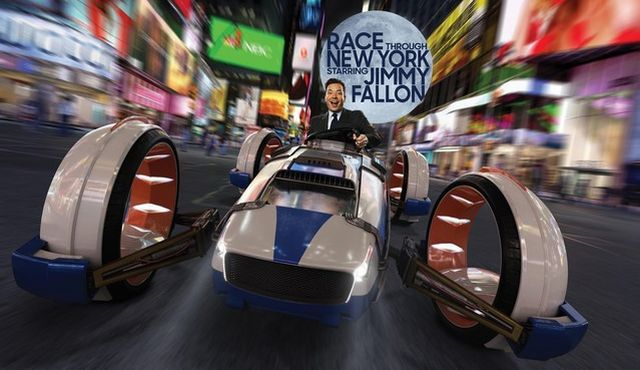 Universal Orlando's Race Through New York Starring Jimmy Fallon to Open in April