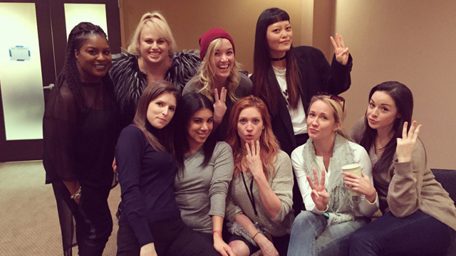 Pitch Perfect 3 filming has begun!