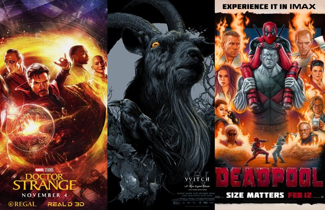 The 25 Best Movie Posters of 2016