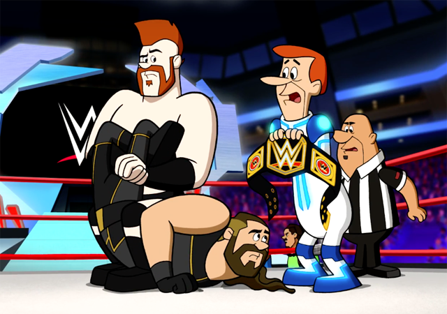 The Jetsons & WWE: Robo-Wrestlemania Trailer is Here