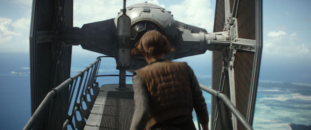 John Knoll explains why this TIE fighter sequence was removed from Rogue One. John Knoll even reveals a Rogue One secret!