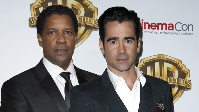 The Inner City movie is adding Colin Farrell opposite Denzel Washington.